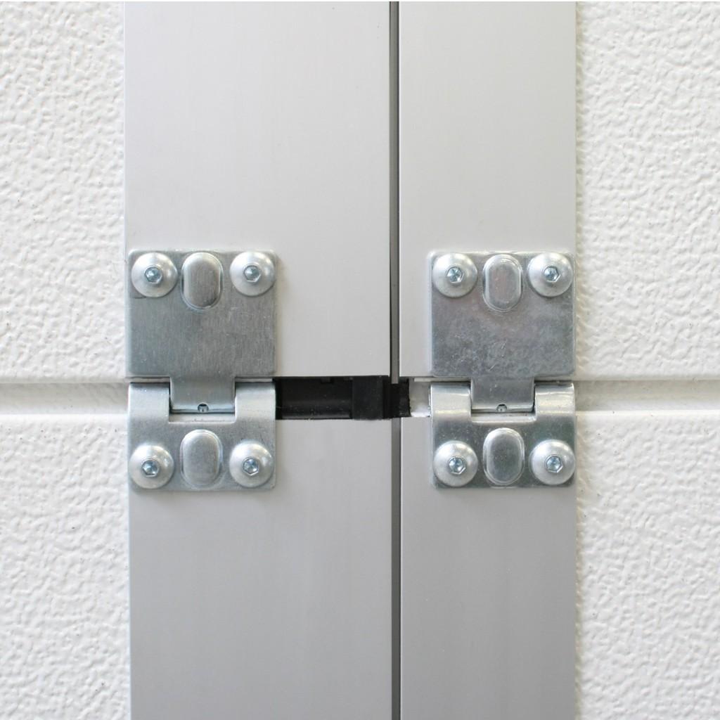 Loopdeur schanier dicht binnenkant